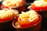 卵入りカップトマトの作り方2