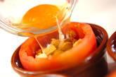 卵入りカップトマトの作り方3