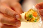 サツマイモのサモサ風の作り方5