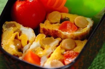 煮豆の卵焼き