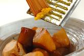 里芋とコンニャクの煮物の作り方2