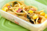 スパゲティー・和風キノコ旨みしょうゆ仕立ての作り方1