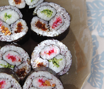 合わせ巻き寿司