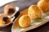 里芋のもちもち揚げ団子の作り方の手順