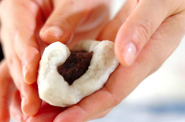 里芋のもちもち揚げ団子の作り方の手順4