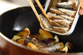 ナスサーディン丼の作り方2