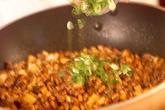 パリ皮付きひき肉納豆の作り方3