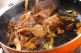 豚とマイタケのオイスターソース炒めの作り方3