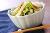 白菜の甘酢和えの作り方の手順