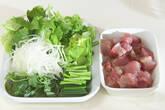 カツオのおろしサラダの作り方1