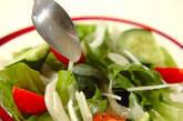 シンプルグリーンサラダの作り方2