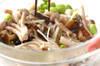 枝豆とキノコのマリネの作り方の手順2