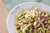 枝豆とキノコのマリネの作り方の手順