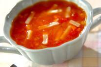 トマトチーズスープ