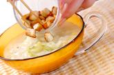 キャベツの白いスープの作り方3