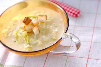 キャベツの白いスープ