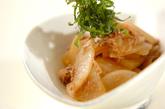 大根とツナの炒め物の作り方2