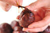 ホロホロやわらか!栗の渋皮煮の作り方の手順3