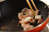 イカのオイスターソース炒めの作り方2