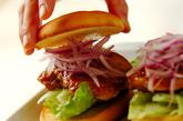 ハニーマスタードチキンバーガーの作り方4