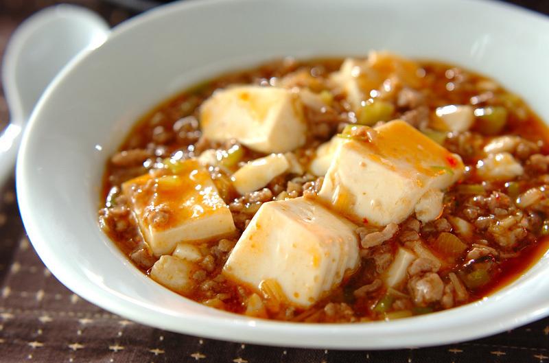 ピリッと辛いスタミナ満点の麻婆豆腐