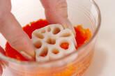 花レンコンの明太子の作り方4