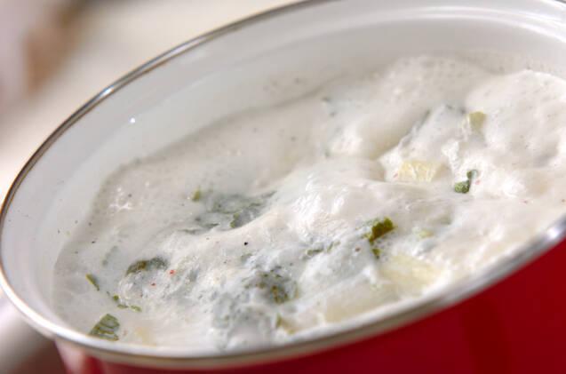 セロリのスープの作り方の手順5