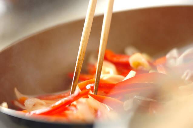牛たんのガーリック炒めの作り方の手順6