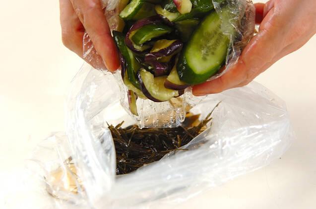 キュウリの昆布酢漬けの作り方の手順3