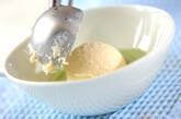 抹茶チーズデザートの作り方2