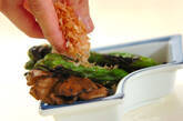 長唐辛子の網焼きの作り方2