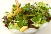 ゴールドキウイの豚しゃぶサラダの作り方2