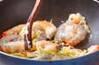 豆腐とエビの塩炒めの作り方の手順7