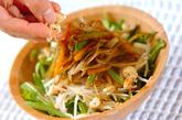 きんぴらゴボウと大根のサラダの作り方3