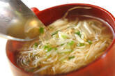 素麺とモヤシのスープの作り方3