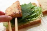 豆腐ステーキの和風サンドの作り方3
