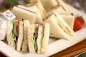 豆腐ステーキの和風サンド