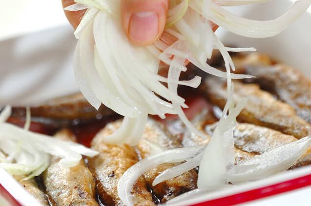 さっぱり!シシャモの南蛮漬けの作り方の手順8
