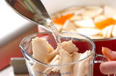 カブとちくわの粕汁の作り方7
