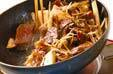 牛肉とキノコの炒め物の作り方9