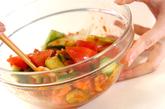 納豆キムチサラダの作り方2