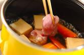 鶏肉と高野豆腐の煮物の作り方7