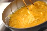 春キャベツと卵のあんかけの作り方2