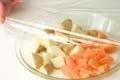 豚バラ肉と野菜のオーブン焼きの作り方1