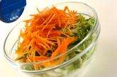 エビ入り白菜の甘酢和えの作り方1