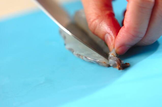 エビ入り白菜の甘酢和えの作り方の手順5