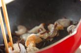 エビ入り白菜の甘酢和えの作り方2
