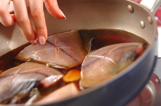 カレイの煮付けの作り方の手順4