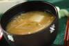 エノキと豆腐のみそ汁の作り方の手順