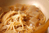 コンニャクの炒め煮の作り方4